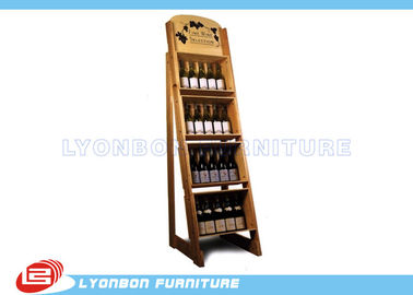 Store Wine Display Stands Paint Finish