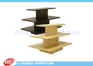 OEM Multi-Color Gondola Display Stands / Garment gondola display shelving